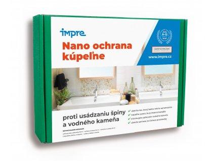 Nano ochrana kúpeľne proti usádzaniu špiny a vodného kameňa 30 ml