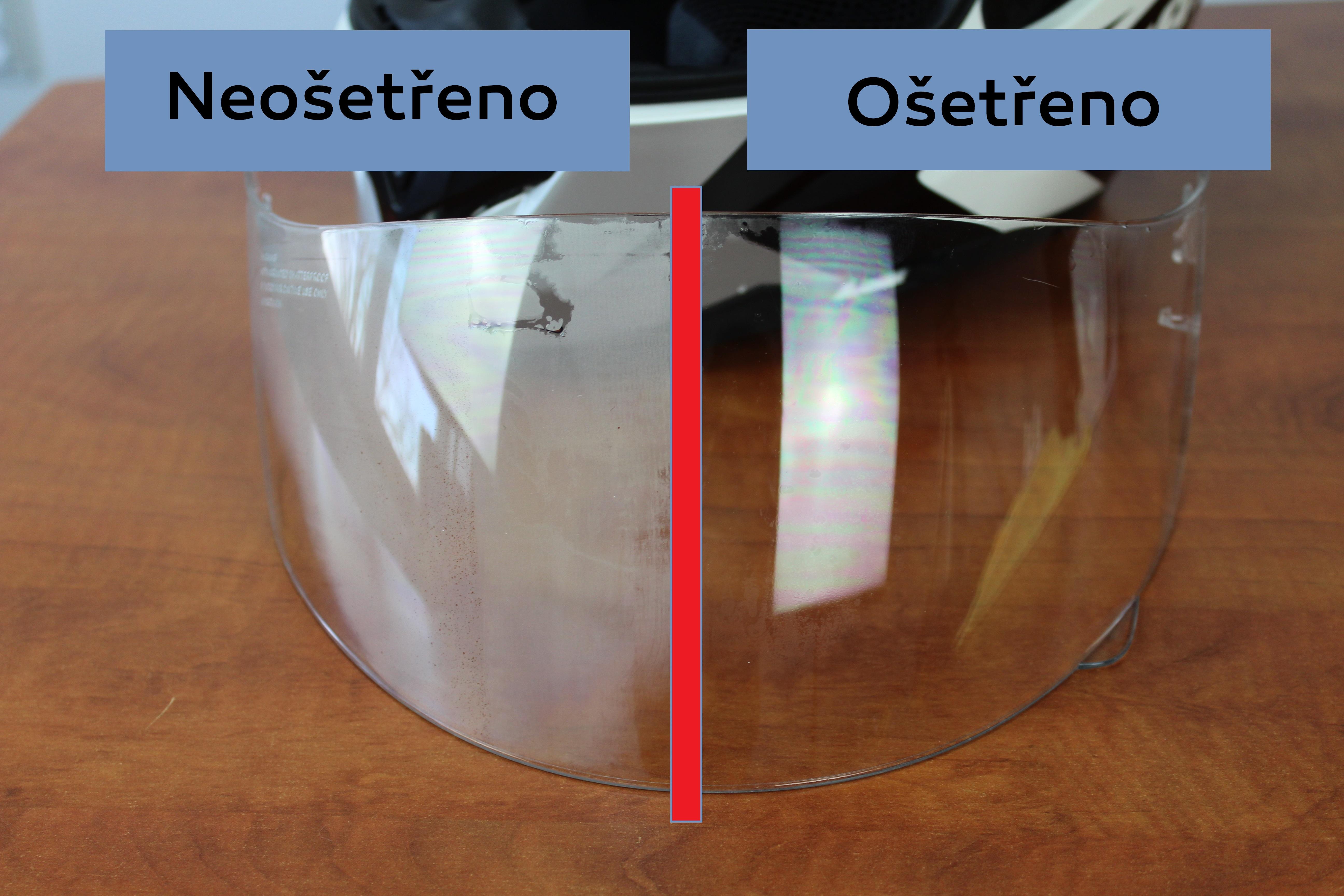 Testujeme naše nano produkty 2. díl Ochrana proti zamlžování plastů