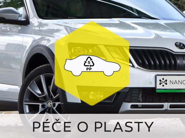 Nano oživovače plastů