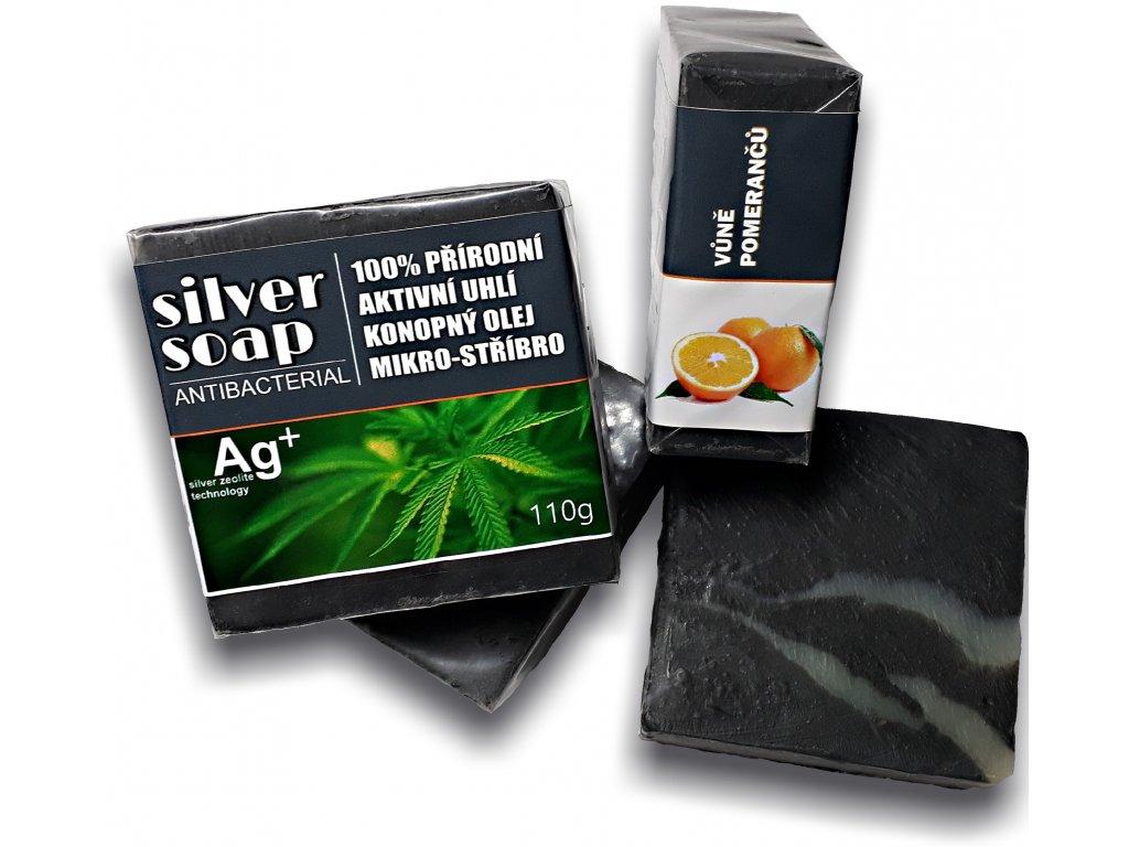 Silversoap pomeranc mýdlo antibakteriální