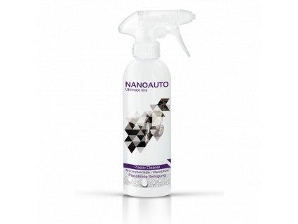 Nanotechnologie Nano4peace nanoauto cistic plastu plastic cleaner