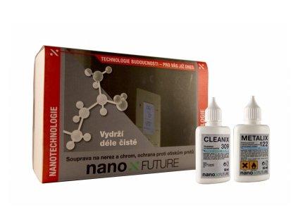 Nanotechnologie Nano4peace metalix sestava
