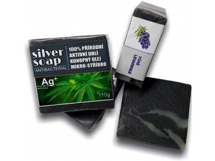 Silversoap levandule mýdlo antibakteriální