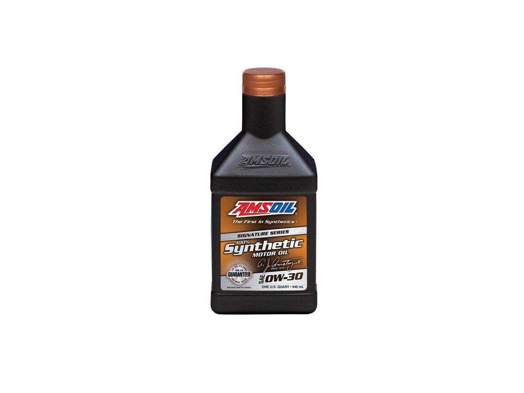 AMSOIL Signature Series 0W-30 Synthetic Motor Oil 1 Quart / 946 ml