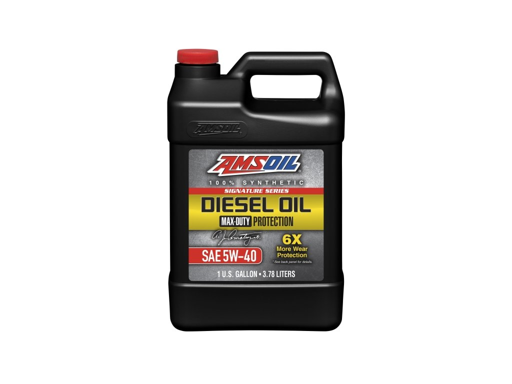AMSOIL Signature Series 5W-40 Max-Duty Synthetic Diesel Oil 1 Gallon / 3,78 l