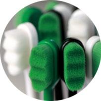 Vyčistí jemně a důkladně zuby od zubního plaku