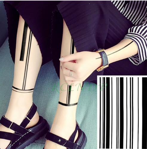 Tetovací štítky na nohu
