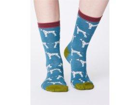 Bambusové ponožky Thought Dalmatin