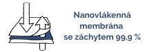 Nanovlákenná membrána