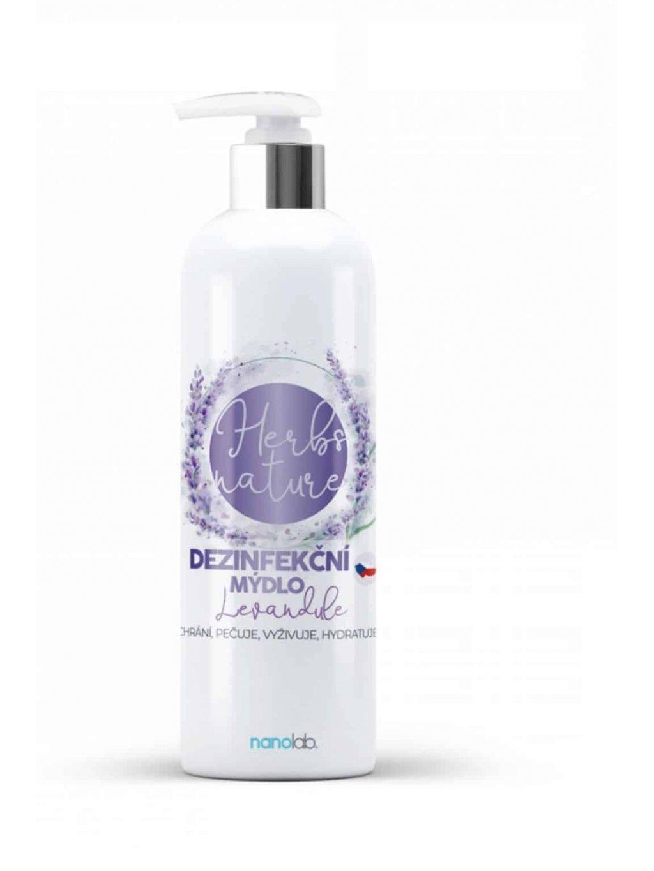 dezinfekční tekuté mýdlo s vůní levandule