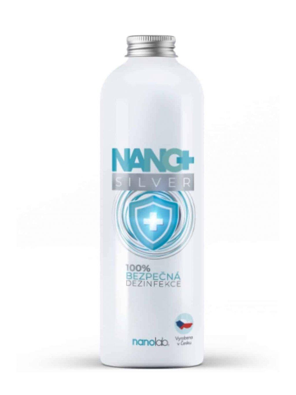 Dezinfekční ROZTOK NANO+ se stříbrem náhradní náplň 1 litr