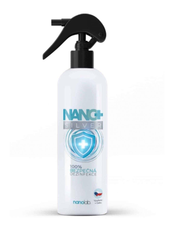 Dezinfekční sprej NANO+ se stříbrem 500ml Nanolab