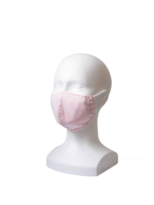 Rouška s kapsou YourFASHION SilverPlus | růžová  |  1 rouška + 10 filtrů  velikost S/M, gumičky + šňůrky