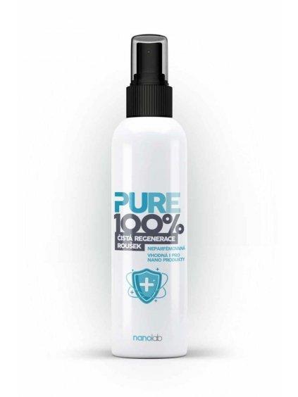 Pure 100%: Dezinfekce respirátorů a roušek SPREJ - ethanolová (Velikost balení 100 ml)