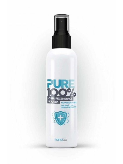 Pure 100%: Dezinfekce respirátorů a roušek SPREJ - ethanolová
