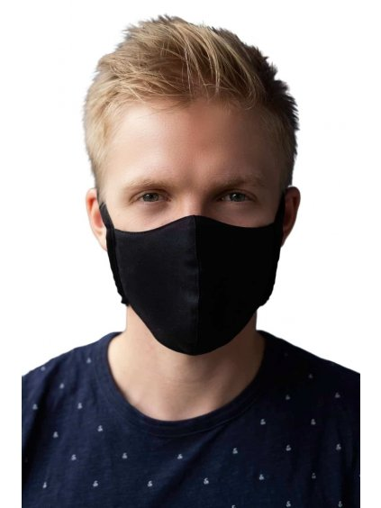 Rouška maska s filtrem NANO MED.CLEAN   1 rouška + 10 filtrů (Varianta Bílá S/M)