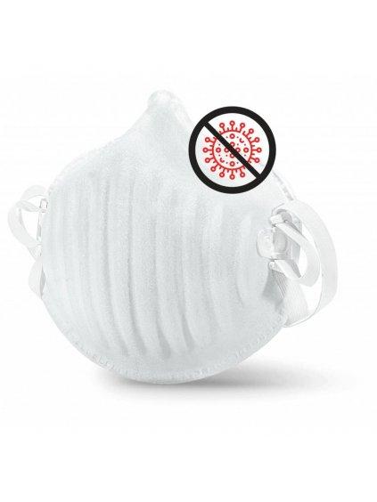 30 ks nano respirátorů BreaSAFE® ANTI-COVID-19 FFP2  87 Kč / ks