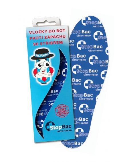 Antibakteriální vložky do obuvi se stříbrem StopBac ORTO TREND
