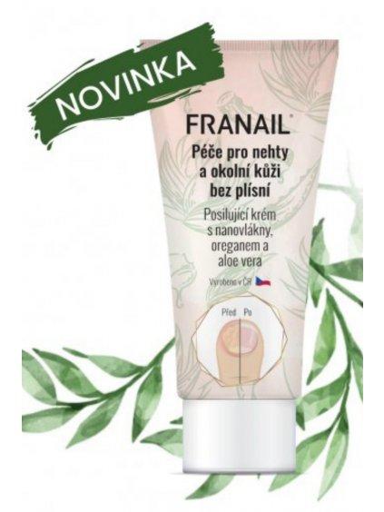 FRANAIL Antimykotický krém na ruce a nohy