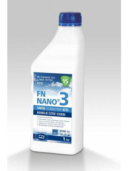 Fotokatalytický nátěr FN NANO®3 vnitřní použití (Objem 1 litr)