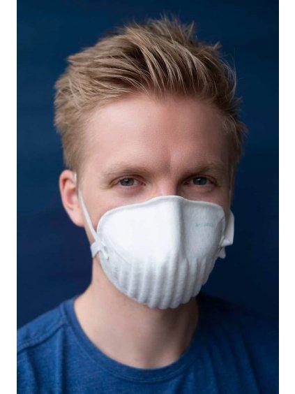 Nano respirátor BreaSAFE® ANTI-COVID-19 FFP2  165 Kč / ks / Opakovaně použitelný