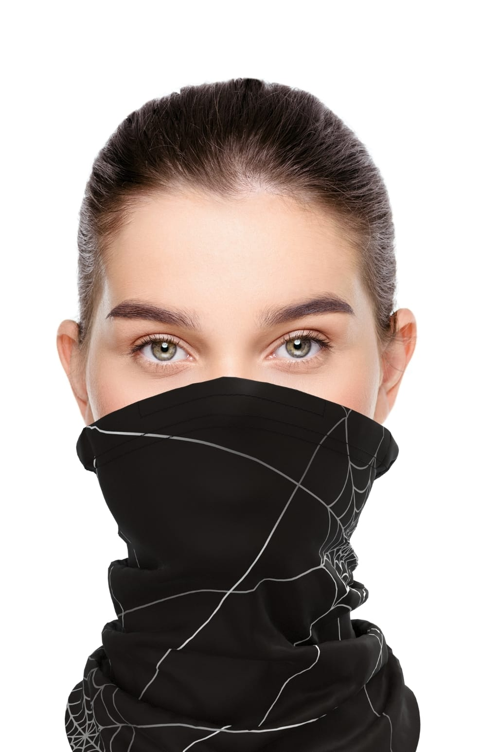 Antivirový šátek nanoSPACE - černý FFP2 dle dTestu