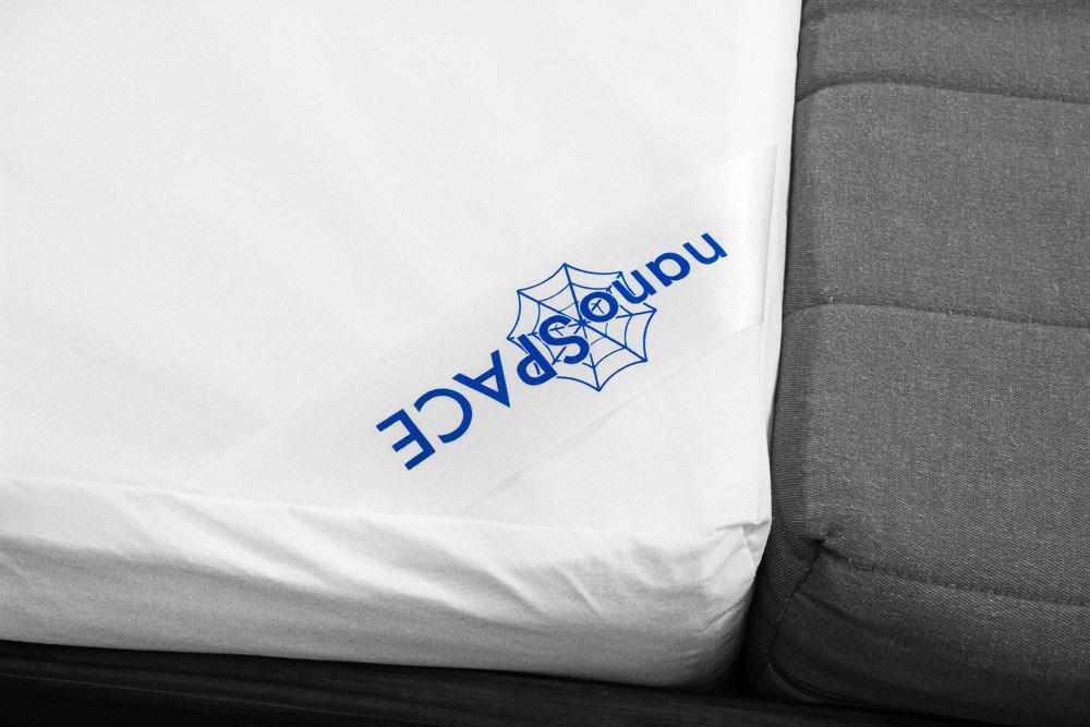 Levně Protiroztočový povlak nanoSPACE na matraci se ZIPEM Rozměry: 80x200x20cm