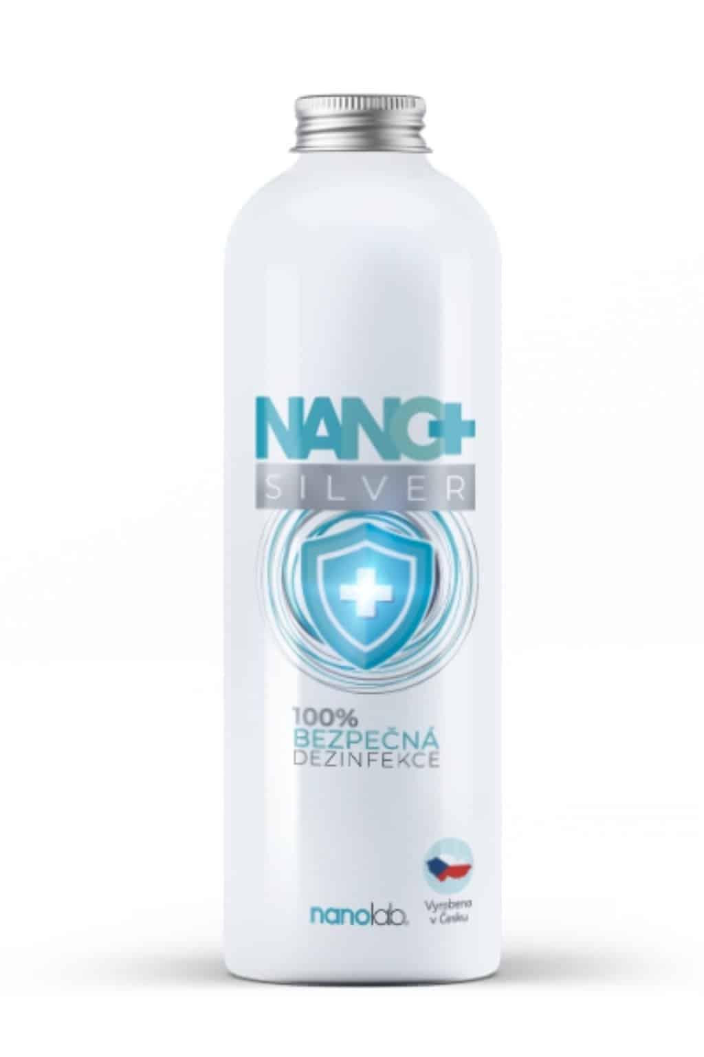 Nanolab Dezinfekční ROZTOK NANO+ se stříbrem náhradní náplň 1 litr