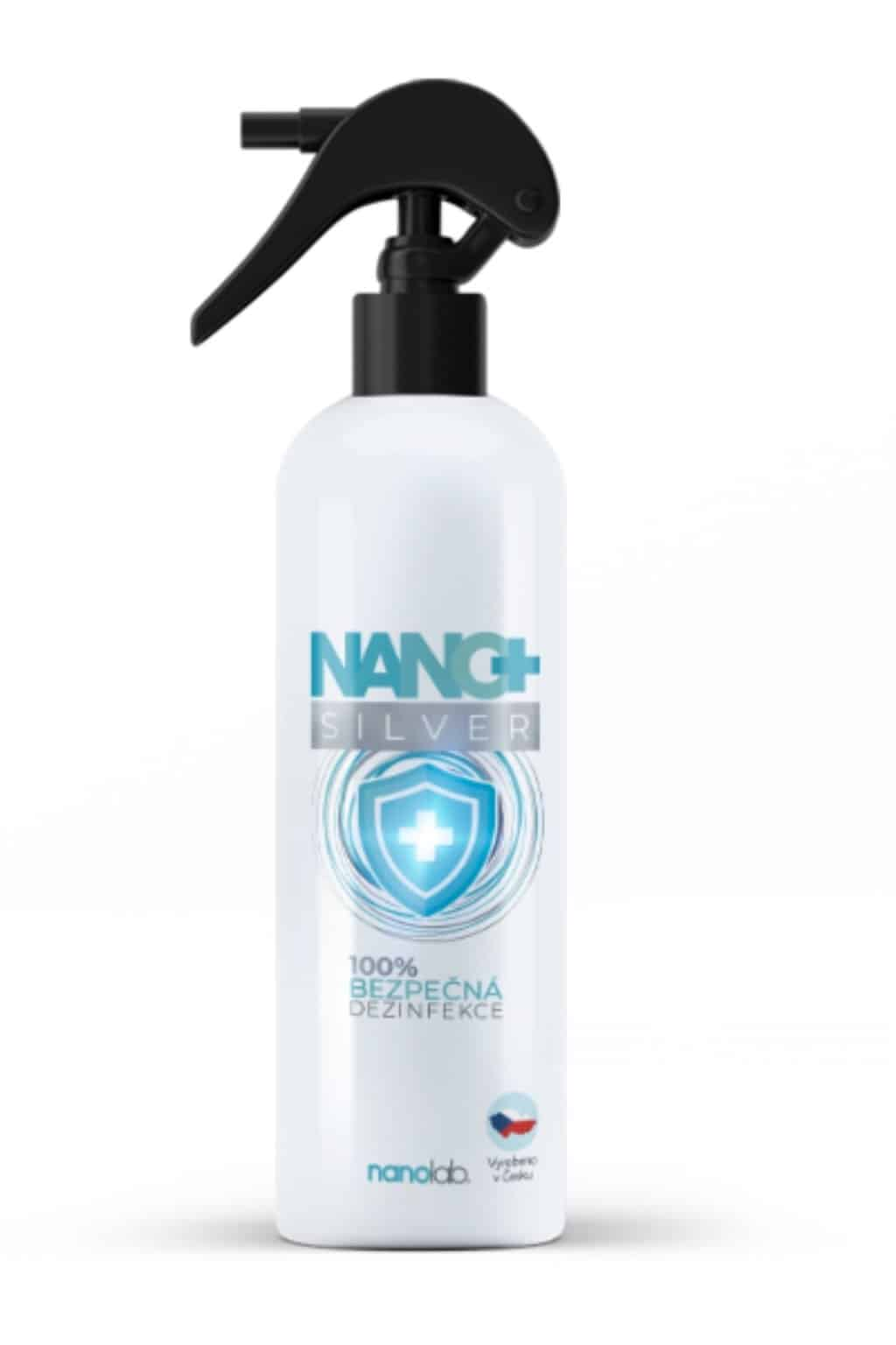 Dezinfekční sprej NANO+ Silver 500ml Nanolab