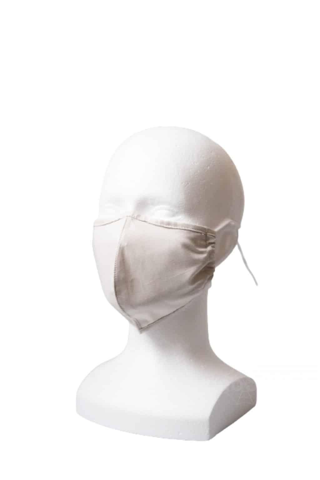 Levně N4H Rouška s kapsou YourFASHION SilverPlus | šedá | 1 rouška + 10 filtrů Barva: šedá, Velikost: S/M gumičky + šňůrky