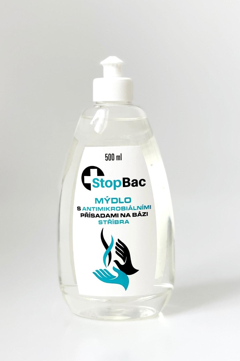 Levně Grade Medical Tekuté mýdlo StopBac s antibakteriálními přísadami 500 ml