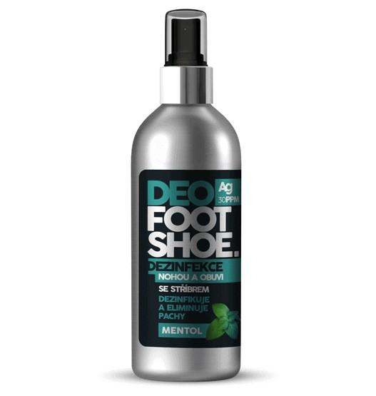 Nanolab Sprej do bot proti zápachu Mentol 180ml na boty i na nohy