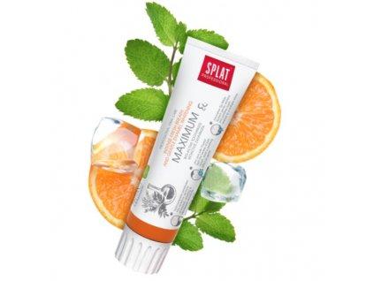 splat maximum zubni pasta pro svezi dech posileni zubni skloviny a setrne beleni 100 ml