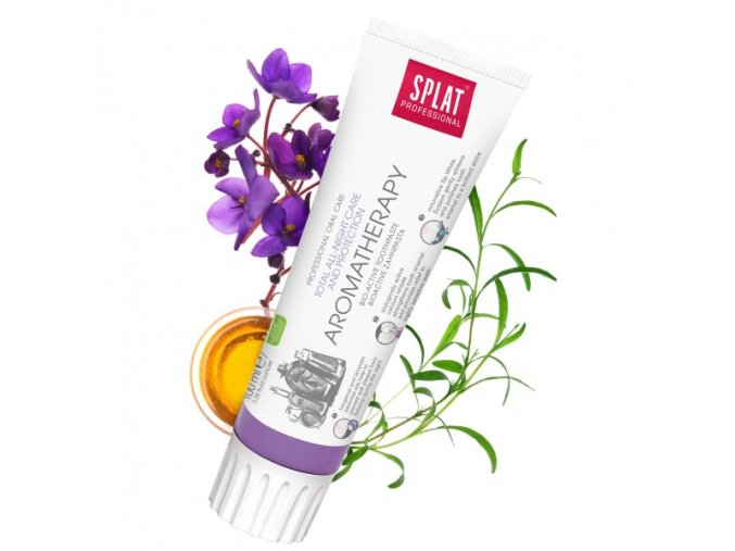 splat aromatherapy zubni pasta pro ochranu a peci o dutinu ustni behem spanku 100 ml
