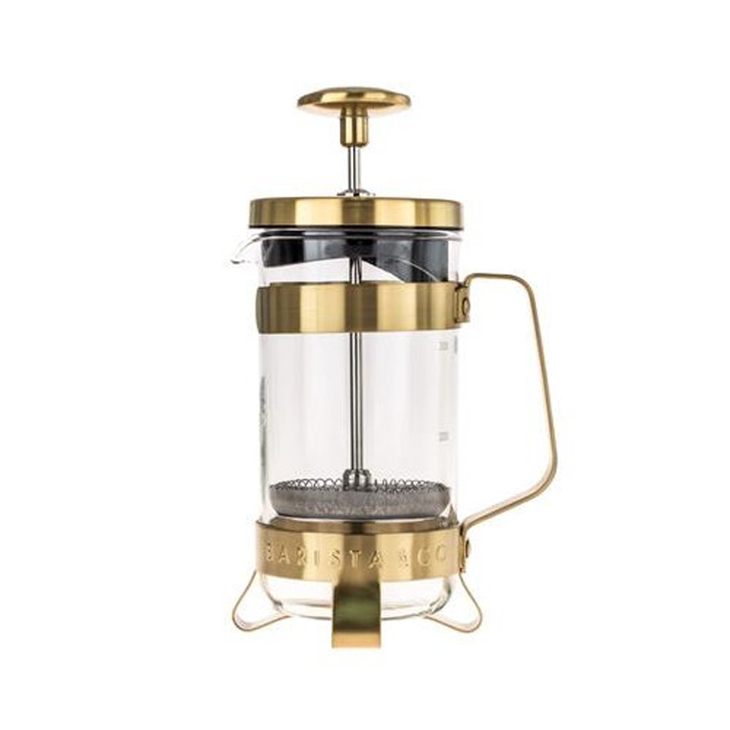 28601 french press barista co 3cup midnight gold 350ml