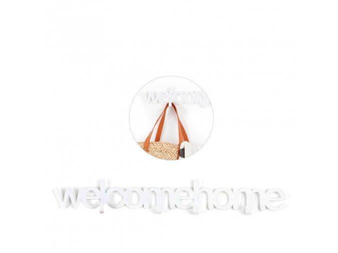 23036 1 nastenny vesak balvi welcome home 25395 56cm bily