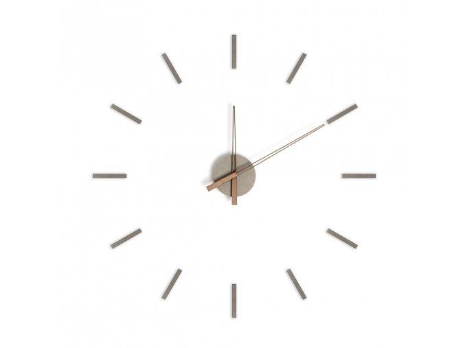 23861 samolepici nastenne hodiny balvi stick tack 26996 sede