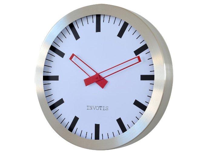 24317 hodiny invotis clock station xxl 60 cm
