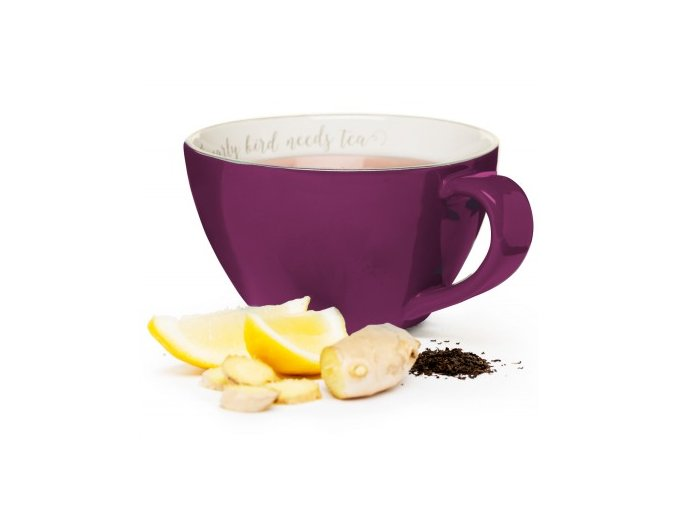 24563 3 xxl salek sagaform i love my tea 0 7l fialovy