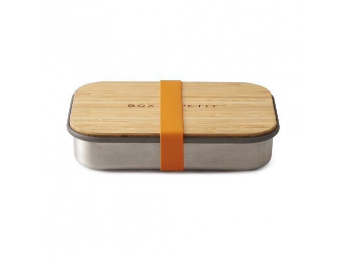 27011 sandwich box black blum nerez bambus oranzovy