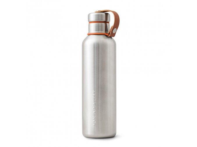 27035 termolahev black blum insulated vacuum bottle 750ml oranzova