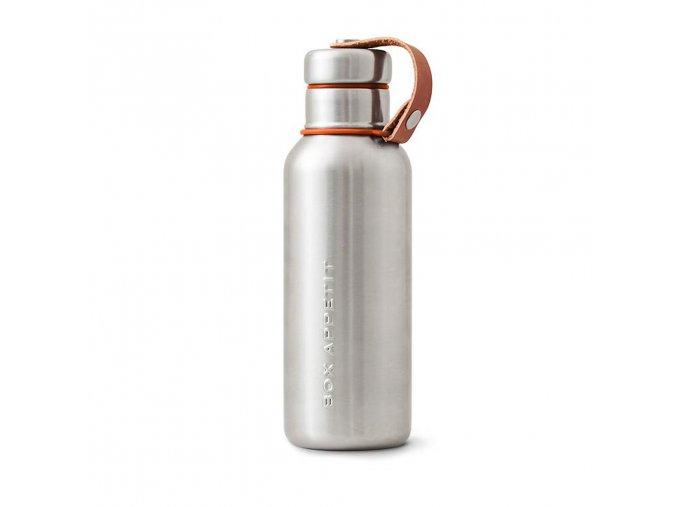 27044 termolahev black blum insulated vacuum bottle 500ml oranzova