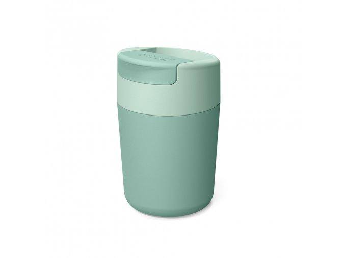 Cestovní hrnek s hygienickým uzávěrem JOSEPH JOSEPH Sipp Travel Mug 81122, 340ml, zelený