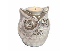 24182 stojanek na cajovou svicku invotis owl