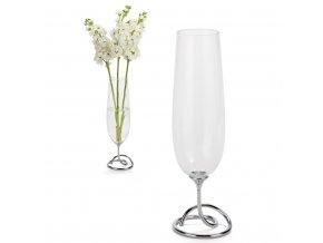 26945 1 vaza black blum vase loop 30 cm