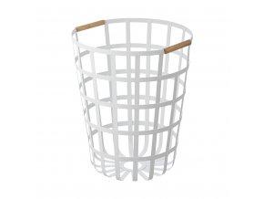 29537 kos na pradlo yamazaki tosca 3356 laundry basket kulaty bily