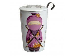 30257 termohrnek s cajovym sitkem eigenart teaeve ninja rose 350ml