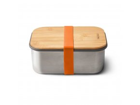 31238 sandwich box large black blum nerez bambus 1 25l oranzovy