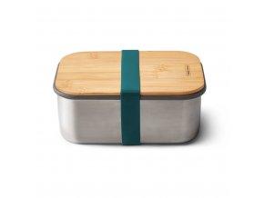 31241 sandwich box large black blum nerez bambus 1 25l oceanove modry