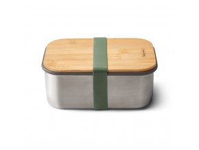 31244 sandwich box large black blum nerez bambus 1 25l zeleny
